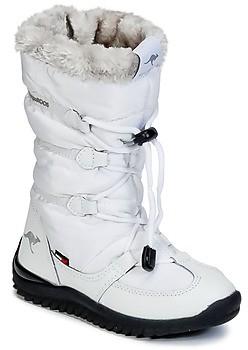 KangaROOS PUFFY III JUNIOR women's Snow boots in White