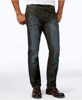 INC International Concepts Men's Slim-Fit Dark Wash Jeans, Only at Macy's