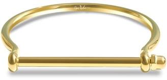 Opes Robur Gold Screw Cuff Bracelet
