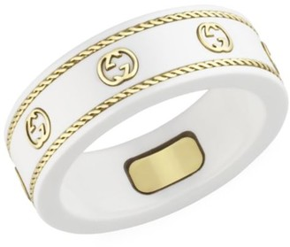 Gucci Icon Ring In 18K Yellow Gold