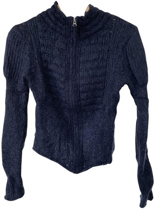 Berenice Blue Wool Knitwear for Women