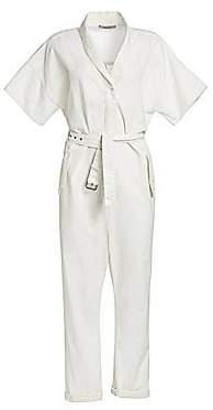 Rachel Comey Women's Pitch Utilitarian Twill Jumpsuit