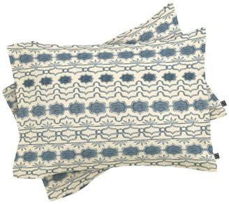 Deny Designs Dash And Ash Tuni Luna Pillow Shams, Queen