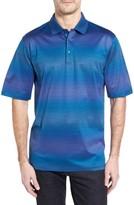 Bugatchi Men's Stripe Jersey Polo
