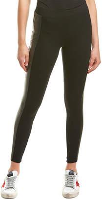 Michael Stars Tuxedo Leather Stripe Legging