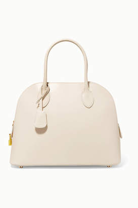The Row Lady Leather Tote - Ivory