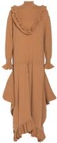 Stella McCartney Felted Frill Midi Dress