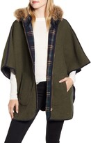 Joules Everly Reversible Wool Blend Cape