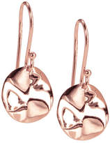Ippolita Mini Rose Wavy Disc Earrings