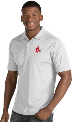Antigua Men's Boston Red Sox Inspire Polo