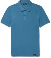 Belstaff - Pearce Slim-fit Cotton-piqué Polo Shirt