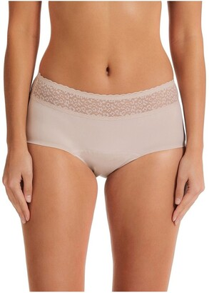 Kayser Blush No More Absorbency Lace Top Boyleg 13WLB234