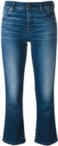 7 For All Mankind cropped jeans - women - Cotton/Polyester/Spandex/Elastane - 30