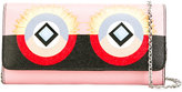 Fendi bug eye clutch bag - women - Calf Leather - One Size
