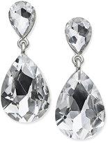 Thalia Sodi Silver-Tone Crystal Teardrop Earrings, Only at Macy's