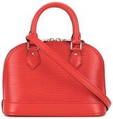 Louis Vuitton Pre Owned Nano Alma crossbody bag