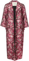 ADAM by Adam Lippes floral jacquard coat
