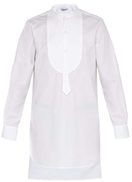 bfaf6c81415 Mens White Tunic Shirt - ShopStyle