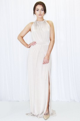 Dressed By Lauren Alice Halter Gown