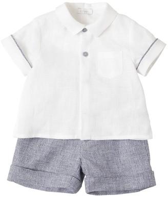 Il Gufo Linen Shirt & Shorts