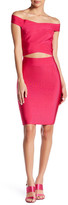 Wow Couture 2-Piece Off Shoulder Bandage Dress