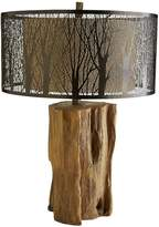 Pier 1 Imports Etched Birches Table Lamp