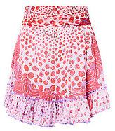 Poupette St Barth Coco Print Mini Skirt