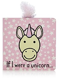 Jellycat If I Were a Unicorn Book - Ages 12 Months+