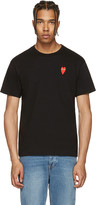 Comme des Garcons Black Long Heart T-Shirt