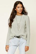 Forever 21 FOREVER 21+ Ribbed Knit Sweater