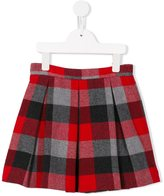 Il Gufo plaid skirt - kids - Cotton/Wool/Polyester/Cupro - 6 yrs
