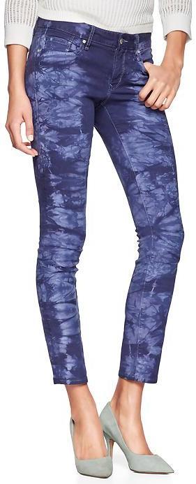 Gap 1969 Tie-Dye Always Skinny Skimmer Jeans