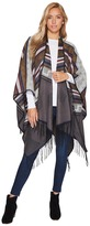 San Diego Hat Company BSP3540 Poncho with Fringe Women's Clothing