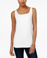 Style&Co. Style & Co Style & Co Petite Shelf-Bra Tank Top, Created for Macy's