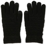 Steve Madden Cable Knit Touchscreen Gloves