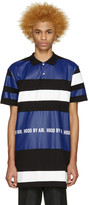 Hood by Air Tricolor Long Striped Polo