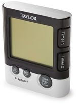 Taylor Dual-Event Digital Timer and Clock