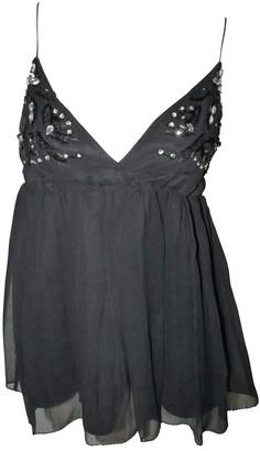 By Malene Birger Black Silk Top for Women