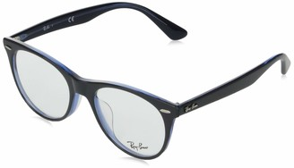 Ray-Ban Unisex's Rx2185vf Asian Fit Square Eyeglass Frames Prescription Eyewear