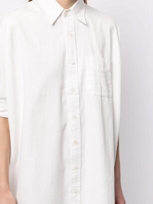 R 13 Shortsleeved Cotton Shirt Dress