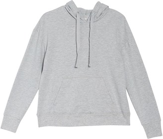 Z By Zella Press Up Solid Pullover Hoodie