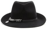 Stella McCartney Falabella wool fedora