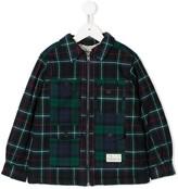 Bonpoint plaid Max shirt jacket