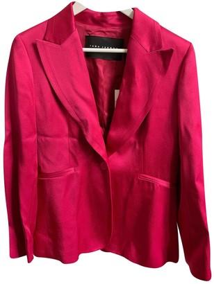 Tara Jarmon Pink Jacket for Women