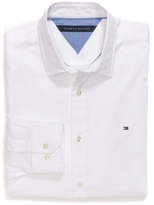 Tommy Hilfiger Custom Fit Stretch Poplin Shirt