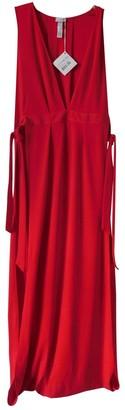 La Perla Red Viscose Dresses