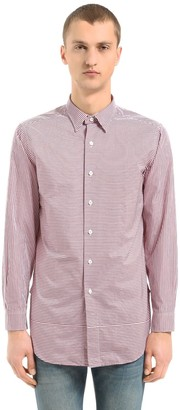 Kent & Curwen Horley Striped Cotton Tunic Shirt
