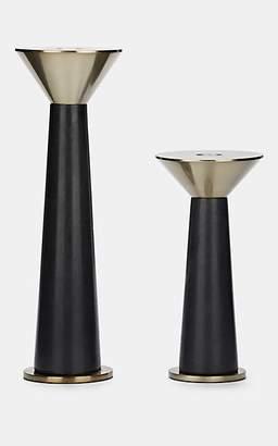 Arteriors Tenbrooke Candle Holder Set - Black