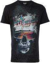 Just Cavalli skull print T-shirt - men - Cotton - L