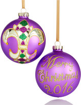 Holiday Lane Mardis Gras Ball Ornament